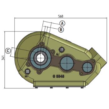 Редуктор Grazioli Agri 5545 — аналог редуктор Berma RT-500