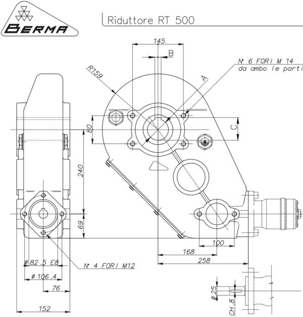 Berma RT 500 Grazioli Agri 5545